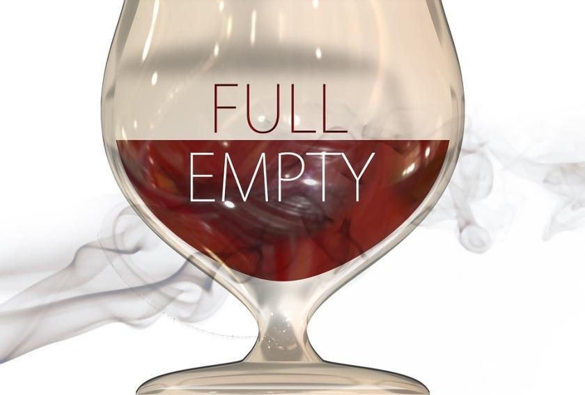 glass-half full