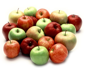 different-colored-apples
